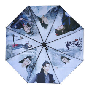 The Untamed Wangji Wuxian Xiao Zhan Yibo CHEN QING LING Fully automatic umbrella