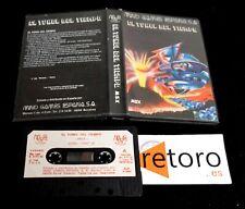CASETE TAPE EL TUNEL DEL TIEMPO THE TUNNEL OF TIME MIND GAMES ESPAÑA MSX