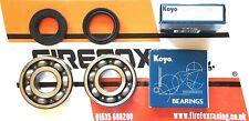 Yamaha DTR125 DT125 R Koyo Crank / Crankshaft Main Bearing & Seal Kit