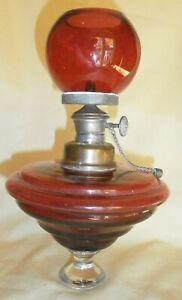 lampe d'église  à essence, voir  scan et détail
