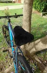 Bicycle Sheepskin Seat Cover - Large
