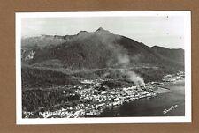 Rppc Ketchikan,Ak Alaska, Air View, Bird's Eye view By Johnson #2175