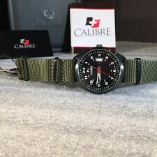 Calibre Men's SC-4T1-04-001SC Trooper Stainless Steel Watch COOL WATCH!!