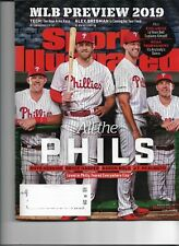 2018 Sports Illustrated March 25th Issue Bryce Harper  On Cover