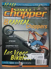 2004 JANUARY STREET CHOPPER  MAGAZINE MOTORCYCLE HARLEY CUSTOM BOBBER BAGGER