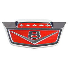 1961-1966 FORD TRUCK F100/1100 HOOD FROM EMBLEM WITH V8       PART# C1TZ-16607-A