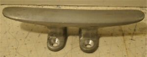 "Vintage Aluminum 4 Hole, 8 1/4"" Hollow Open Base Cleat"