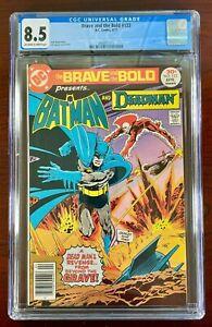 BRAVE AND THE BOLD #133 CGC 8.5 VF+ (DC 1977) BATMAN & DEADMAN 🔑