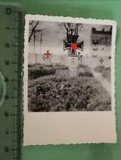 interessantes altes Foto - Soldatengräber in Polen - Pociecha ??? 1939