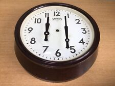 More details for vintage smiths large bakelite round wall clock surround