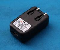 EU Plug USB AC DC Power Supply Wall Charger Adapter MP3 MP4 DV Black Brand New