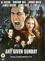 Any Given Sunday (DVD, 2000, Director's Cut) Charlton Heston, Al Pacino -
