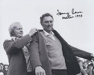 Tommy Aaron Masters Champion Signed Autograph 8x10 Photo COA GFA