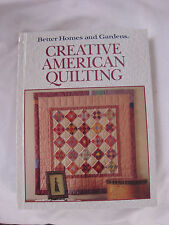 Creative American Quilting How To Illus Better Homes & Garden 1989 1st Ed MINT!