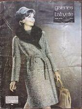 """CATALOGUE MODE """" DES GALERIES LAFAYETTE """" HIVER 1963 - 1964"""