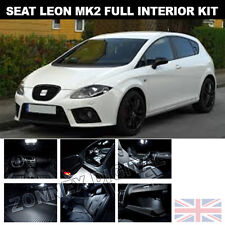 Seat Leon Mk2 FR 1P1 05-12 FULL DEL Interior Light Kit-Lumineux Blanc Xenon