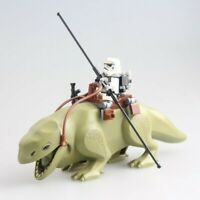 Star Wars Dewback Monster & Free Mini Figure Fit lego Han Solo Luke Skywalker