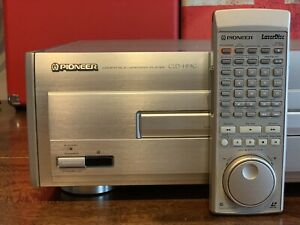 Pioneer CLD-HF9G (Elite CLD-99) NTSC Laserdisc player, AC-3 RF,  Dual side play