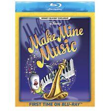 Make Mine Music Blu Ray Disney Animation Disney Movie Club Exclusive NEW - READ