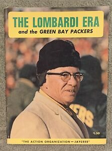 1968 THE LOMBARDI ERA - GREEN BAY PACKERS YEARBOOK (1959-1967) Vince Lombardi