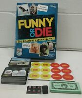 Funny or Die Board Game by Hasbro (2013)