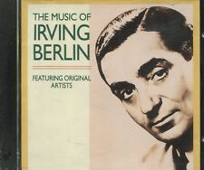 THE MUSIC OF IRVING BERLIN FEATURING ORIGINAL ARTISTS - CD