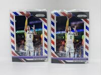 KYLE KUZMA 2018-19 PRIZM BASKETBALL RED WHITE BLUE REFRACTOR SP! LOT 2nd Year