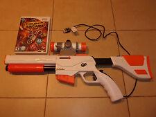Nintendo Wii Top Shot Arcade Game w/ Shotgun Controller & Nunchuk-hunting-buck