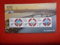 New Zealand  NZ2020 STAMP EXHIBITION  MARITIME SAILS 3 STAMPS   MINI SHEET MUH