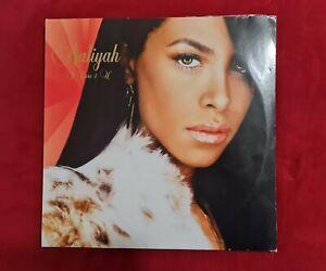 Aaliyah I Care 4 U Original UK Double Record LP Vinyl Rare