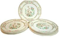 "Davison & son Indian tree Made England Plates 9"" Porcelain China Antique"