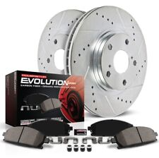 Power Stop K5976 Disc Brake Pad And Rotor Kit Front For 18 Ford C-Max NEW