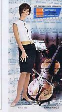 PUBLICITE ADVERTISING 015 1965 CHAVANOZ vêtement pour femme