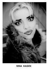 Nina Hagen-Sexy promo press photo 1990's - Ndw-Godmother of Punk