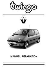 manuel atelier entretien réparation technique maintenance Renault Twingo 1 - Fr