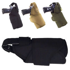 Tactical Adjustable Right Hand Hunting Quickly MOLLE Waist Pistol Holster BK/Tan