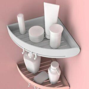 Bath Organizer Rack Triangular Shower Caddy Shelf Bathroom Corner Storage Holder