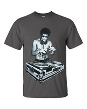 DJ Bruce Lee Mens Charcoal T shirt/Worn by Tony Stark Avengers/Movie/Headphones