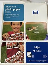 HP Premium Glossy Photo Paper 8.5x11 Inkjet Printer 48 Sheets
