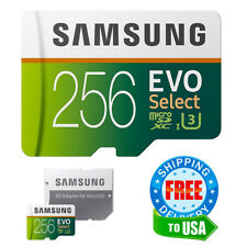 Samsung Micro SD Card 256GB EVO Select MicroSD Class 10 HTC Galaxy Note 8 S7 S8