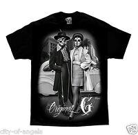 Original G Zoot Suit Cholo Gangster Homies David Gonzales DGA Art Men's T Shirt