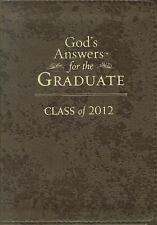 God's Answers for Graduates - Class of 2012 by Jack Countryman (2012, Hardcover,