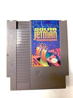 Solar Jetman: Hunt for the Golden Warship ORIGINAL NINTENDO NES GAME Tested!