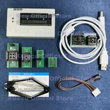 Xgecu Tl866ii Plus Universal Programmer With Black Zif Socket 6 Adapters