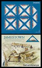 Scott # 4136 41¢ Settlement of Jamestown - Mint Sheet  MNH