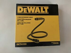 Dewalt-DCT4103 Inspection Camera Extension Cable (17mm)