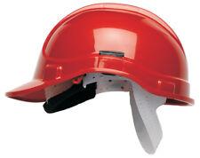 SCOTT HC300 Casco Casco Sicurezza Rosso con SWEATBAND EN397 costruttori REGOLABILE