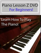 Piano Lesson Z DVD: Beginners Piano Instructional DVD