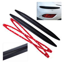 42cm 2pcs Car Rubber Bumper Edge Protector Corner Guard Anti-rub Scratch Sticker