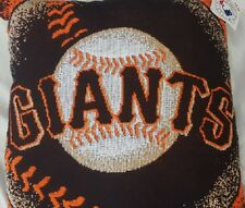 "San Francisco Giants Woven 20"" x 20"" Pillow - MLB"